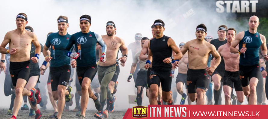 Athletes embrace the cold in Extreme Winter Obstacle Race
