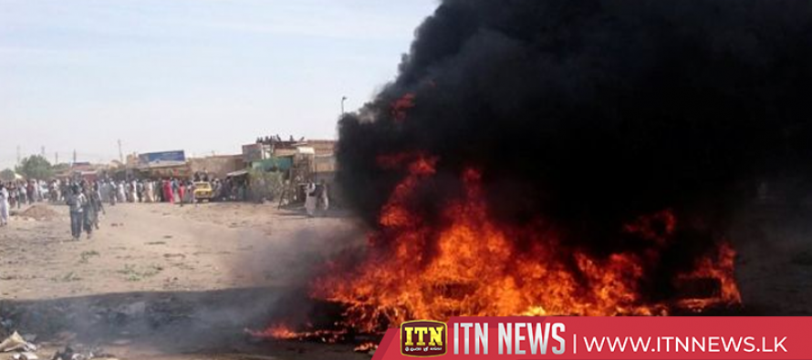 Sudan protests turn deadly as demonstrators clash with police
