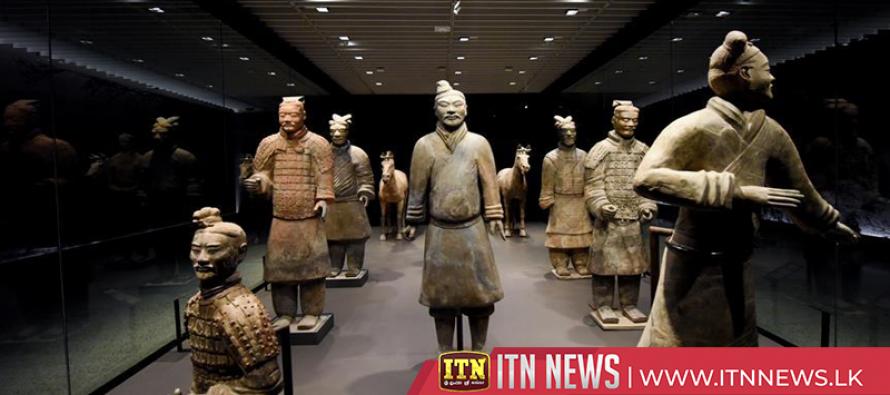 Terracotta warrior exhibition debuts in New Zealand