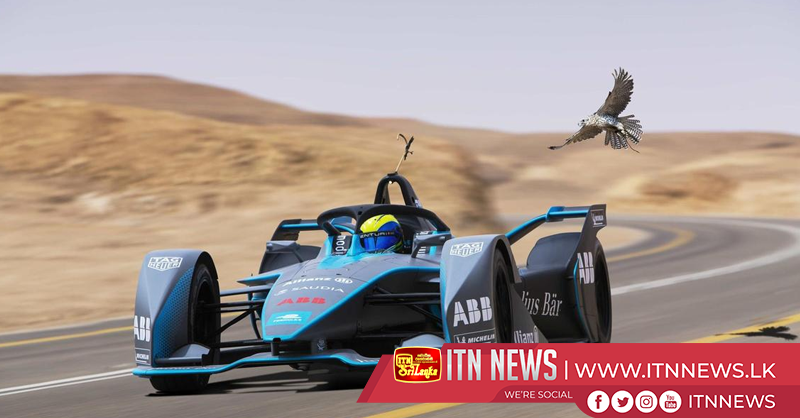 Is it a bird? Massa races falcon in Formula E car