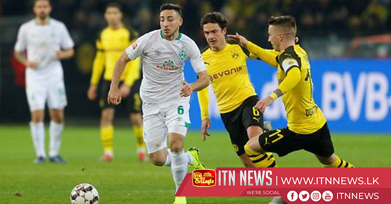 Dortmund beat Bremen 2-1 to guarantee 'autumn title'