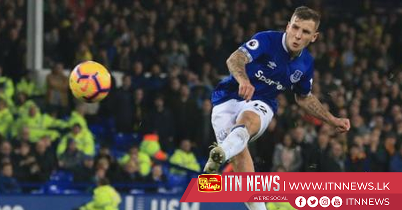 Everton 2-2 Watford: Lucas Digne's late free-kick rescues point for hosts