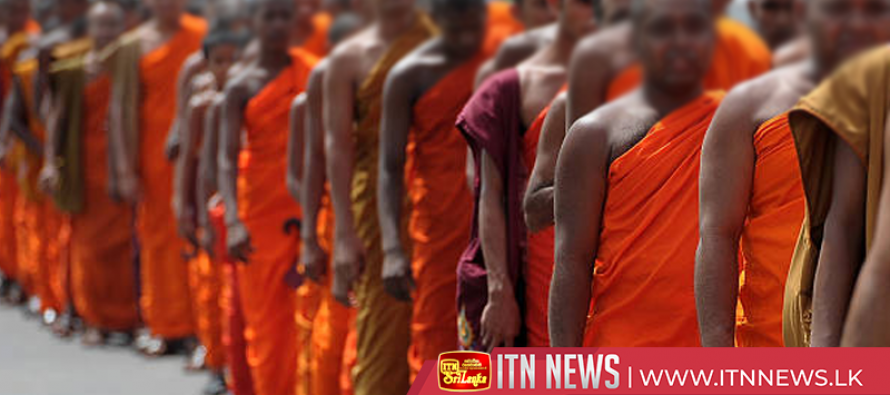 Buddhist monks walk to bring stability to the country