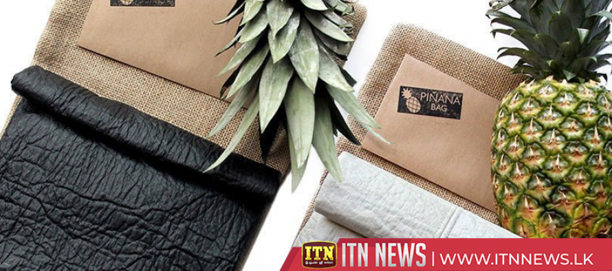 'Pineapple leather' offers sustainable, vegan alternative