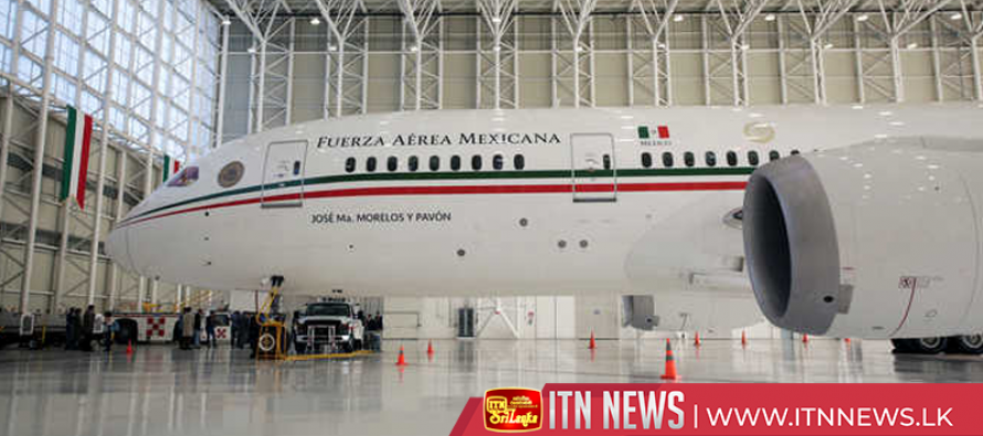 Mexico's new leftist leader puts presidential plane up for sale