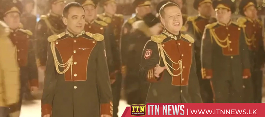 "Russian National Guard performs ""Last Christmas"" in Red Square"