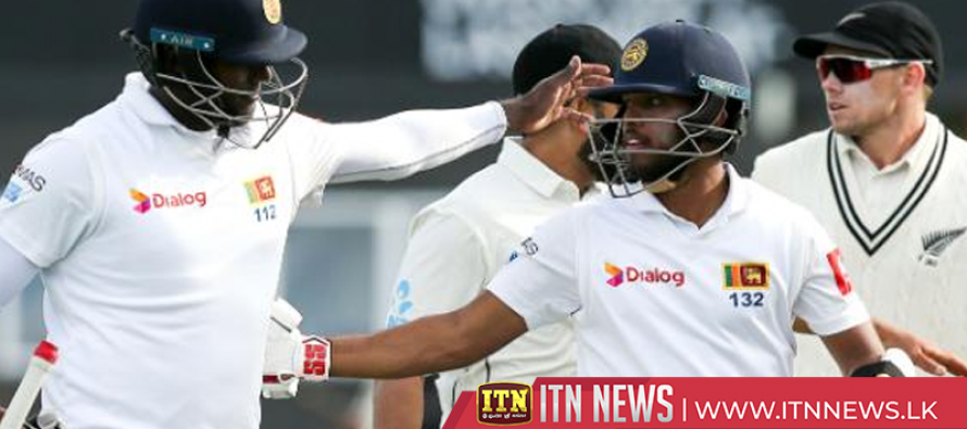 Mendis, Mathews turn script to earn Sri Lanka hard-fought draw