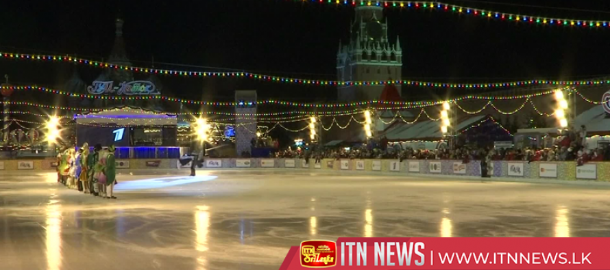 Russians take to ice as two iconic rinks in Moscow