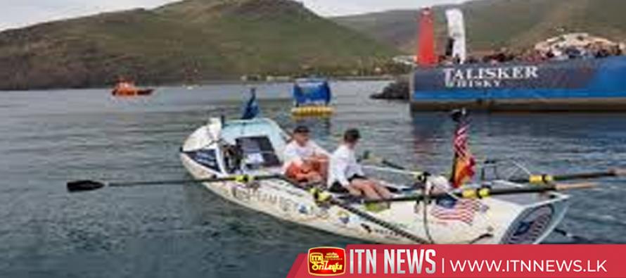 Competitors depart in transatlantic rowing challenge