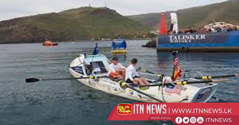 Competitors depart in transatlantic rowing challenge