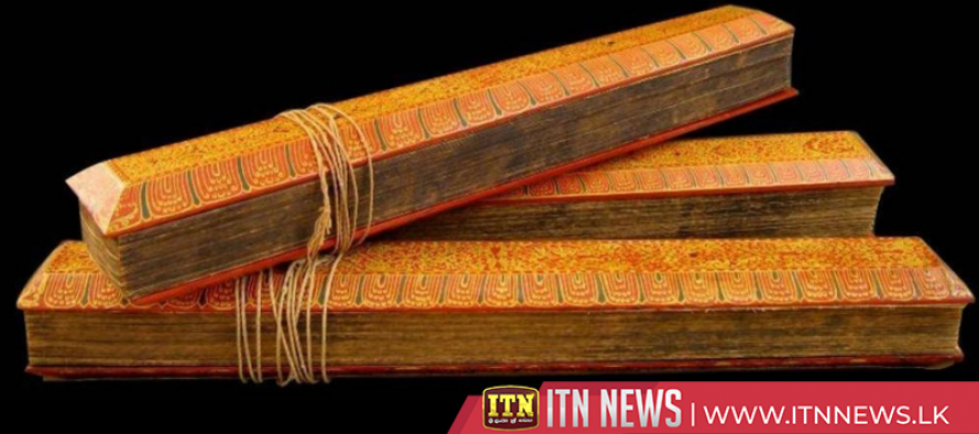 Tripitaka is to be declared as a National Heritage
