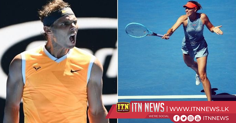 Nadal through but Kerber and Sharapova crash out of the Australian Open