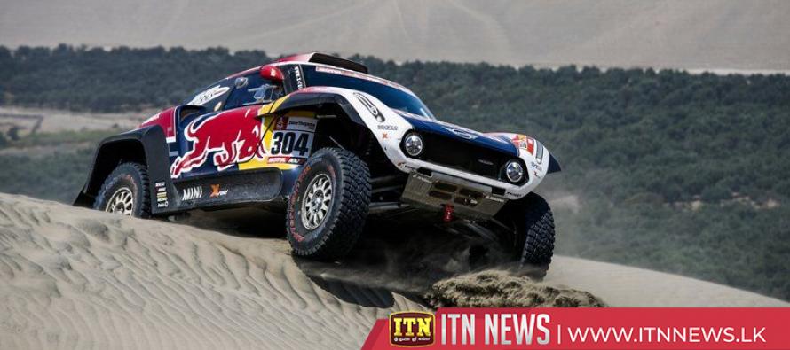 Peterhansel wins Dakar stage 7, Loeb hits trouble