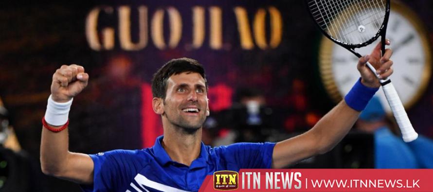 Djokovic destroys Pouille to set up Nadal showdown