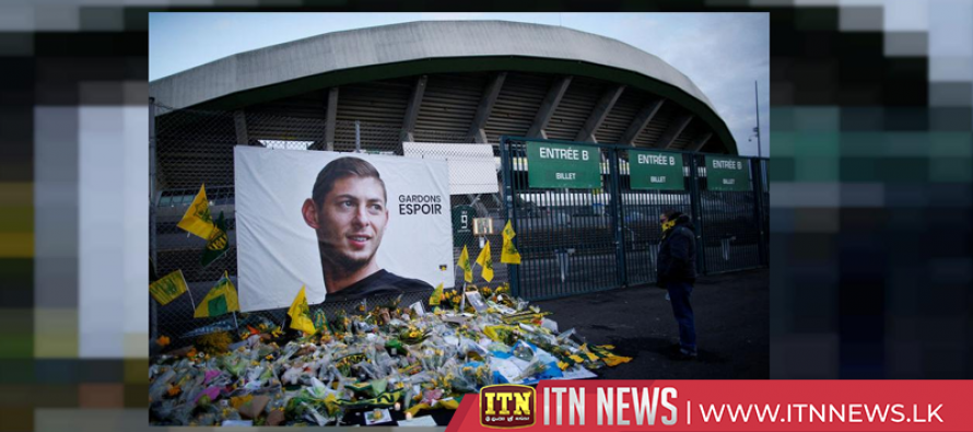 Emotions run high as Nantes pay tribute to Sala