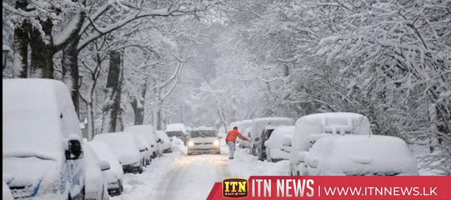 Snowed-in German town declares state of emergency