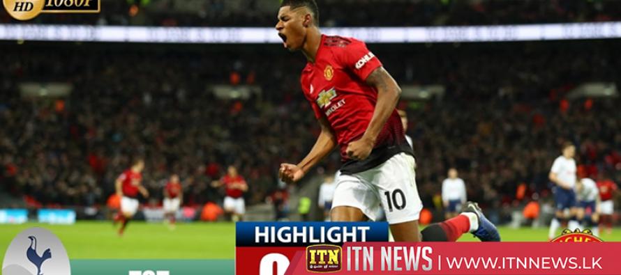 Tottenham Hotspur vs Manchester United 0-1