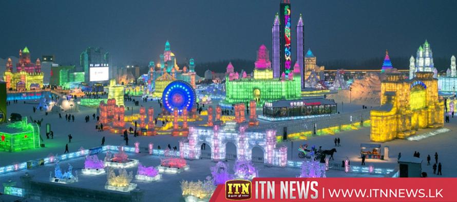 China's Harbin turns into winter wonderland ahead of international ice festival