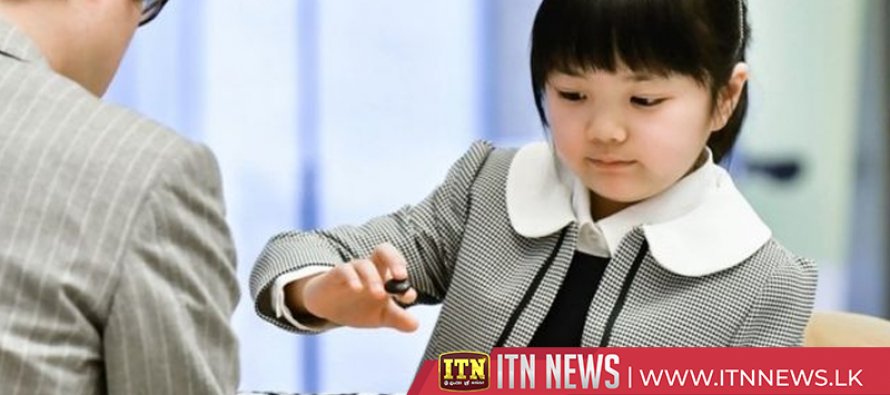 Japanese school girl set to be the world's youngest Go player