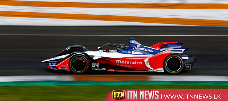 Mahindra Racing's d'Ambrosio takes chequered flag in Morocco