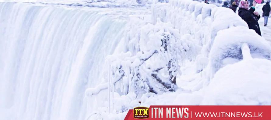 The deep freeze of Niagara Falls