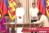 The President meets his Filipino counterpart.