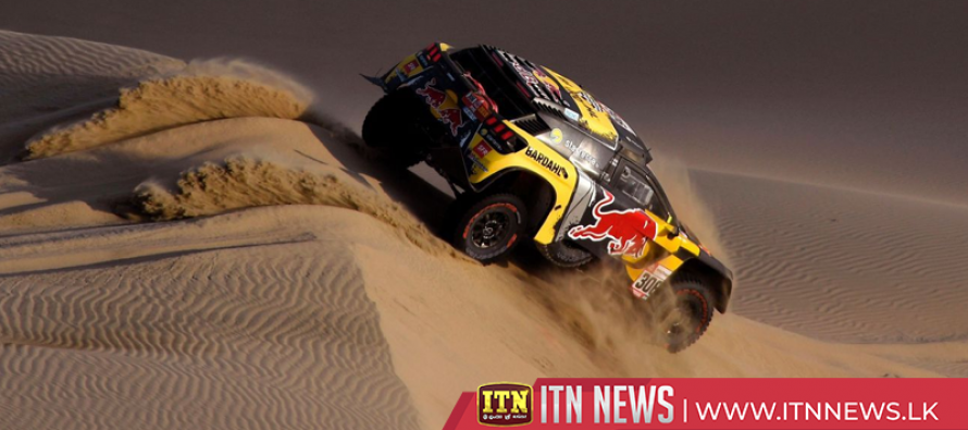 Loeb takes second Dakar stage, de Villiers leads overall