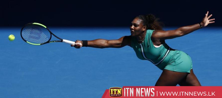 Serena motors into fourth round in Melbourne