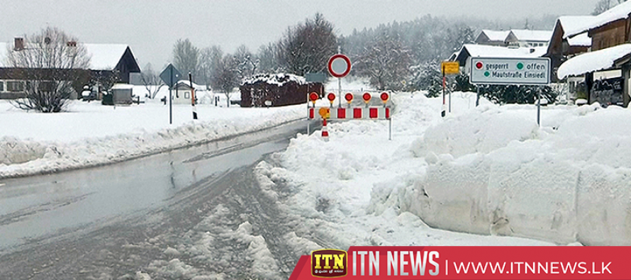 South Germany declares state of emergency after heavy snowfall