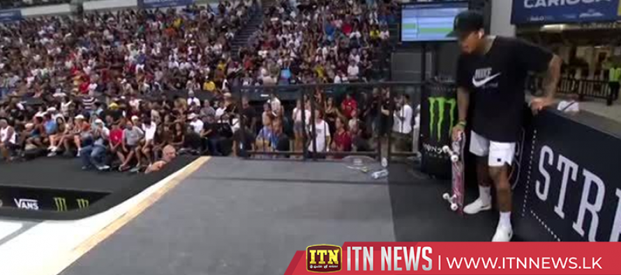 Nyjah Huston underlines Olympic potential with skateboarding victory