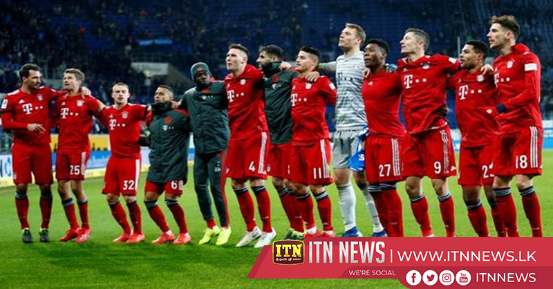Bayern win again to cut Dortmund's lead