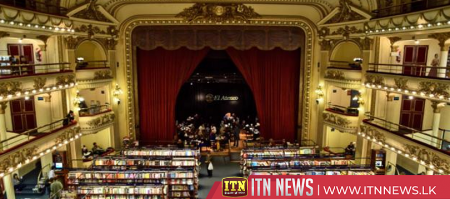 Century-old Buenos Aires theatre gets new lease of life as bookstore
