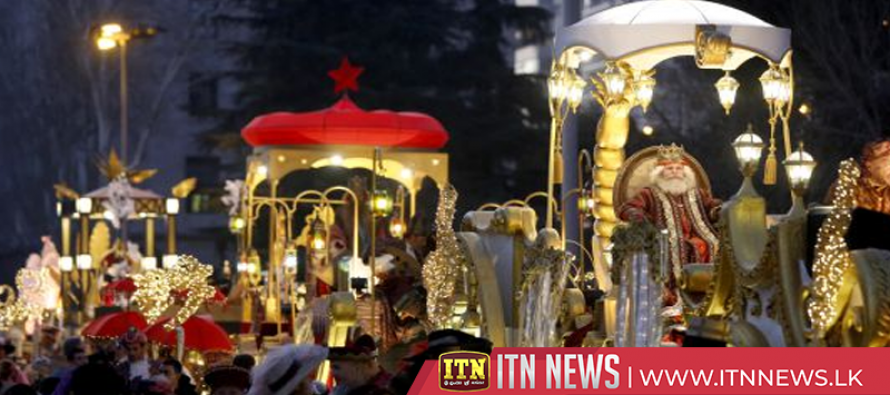 Three King Parade brings magic and excitement through Madrid streets