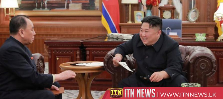 North Korea's Kim expresses satisfaction for pre-summit negotiations, praises Trump