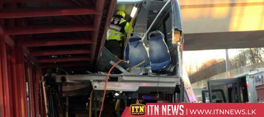 Eight killed as Ottawa bus crashes into bus shelter