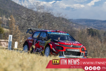 Ogier narrow lead over Neuville in Rally Monte Carlo