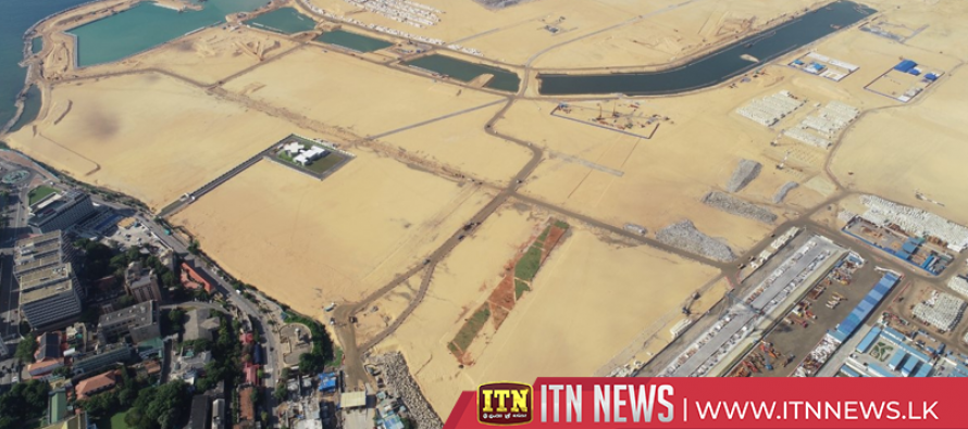Land Reclamation for Port City completed