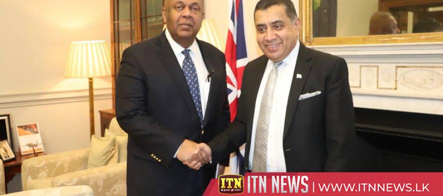 The Finance Minister calls on Lord Tariq