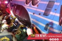 தாய்லாந்தில் பஸ் வண்டியொன்று கவிழ்ந்ததில் 6 பேர் பலி  : 50 பேர் படுகாயம்
