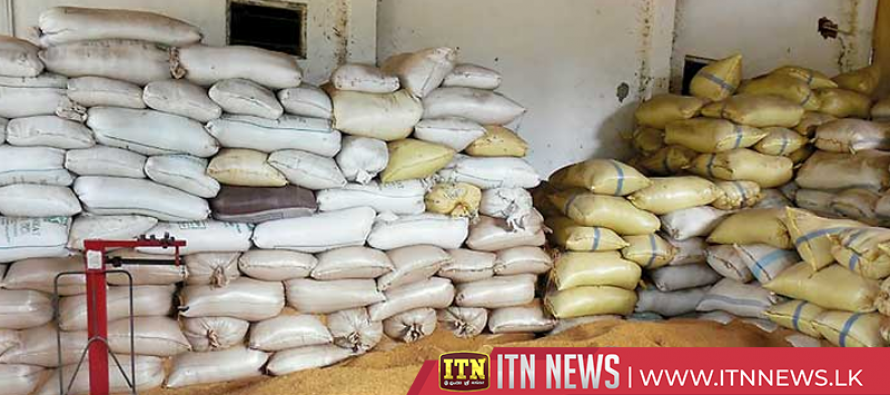 11,642 metric tons of paddy purchased from the North