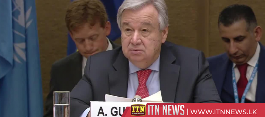 UN Chief says attacks in Sri Lanka, other countries show global reach of terrorism