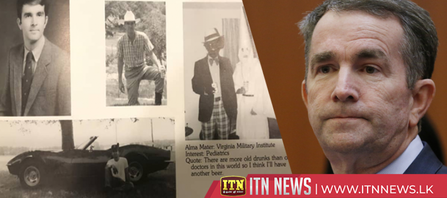 Virginia governor apologizes for racist 1984 yearbook photo
