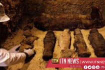 Burial site of fifty mummies discovered in Egypt