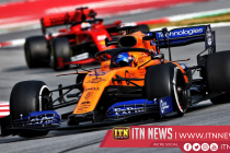 Sainz grounds expectations after clocking quickest time with McLaren