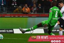 Late Zakaria goal rescues point for Gladbach at Frankfurt
