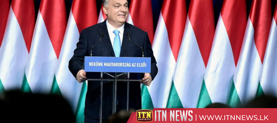 Hungarians protest in Budapest as PM Orban delivers national address