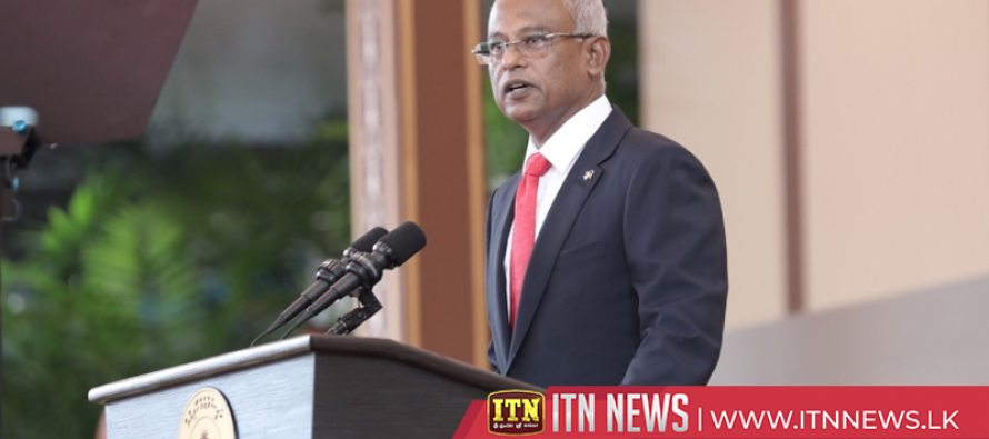 Maldivian President arrives in the country