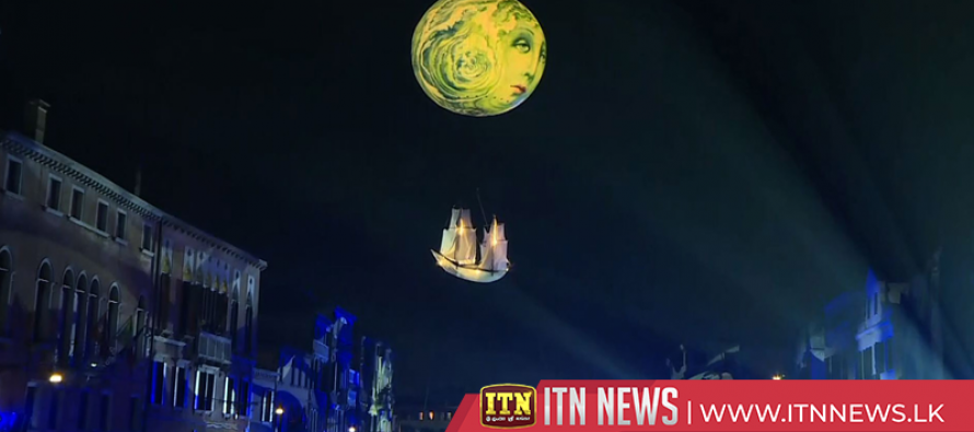 Floating moon-themed parade kicks off Venice Carnival
