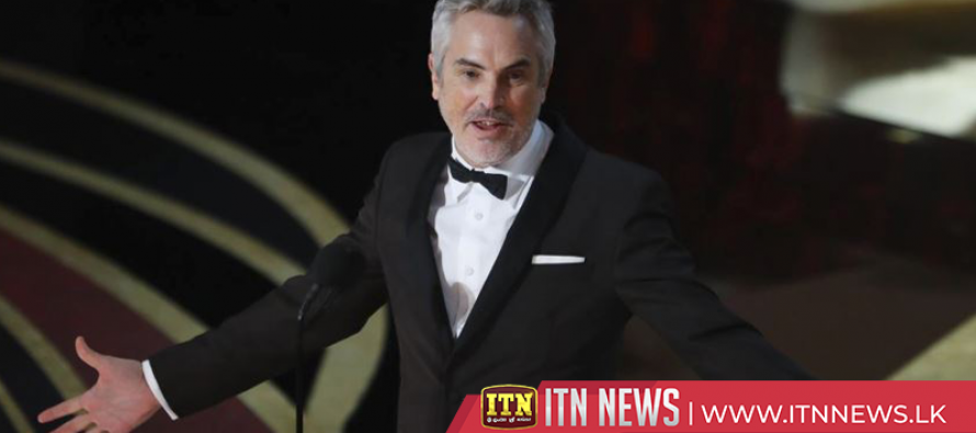 Mexico's Alfonso Cuaron wins best director Oscar for 'Roma'