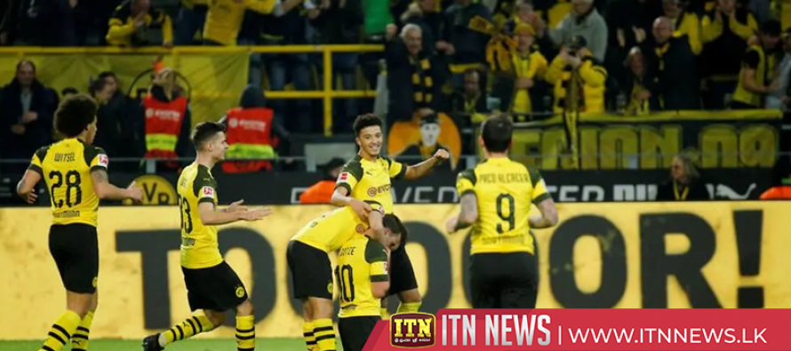 Dortmund back to winning ways after 3-2 victory over Leverkusen